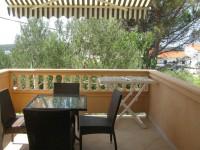 Balkon zum Fruehstucken